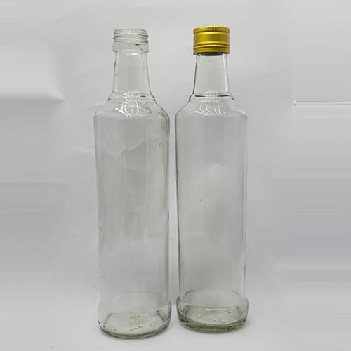 Botol kaca AM-madu hitam 350 ML