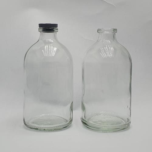 Botol kaca Penicilin 100 ML (Bening)